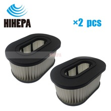 2 adet tipi 50 HEPA filtre Hoover Foldaway 51000 serisi ve Turbo güç/3100 Elektrikli süpürge parçası değiştirin #40130050 #43615090