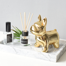 MRZOOT Ins Nordic style creative home silver small animal soft decorations golden dog ornaments statue sculpture decoration