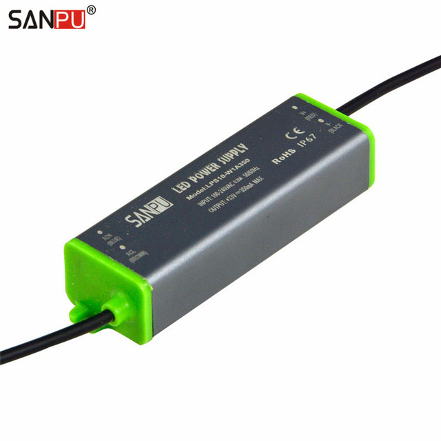 sanpu 350ma 10w led driver 35v ip67 constant current switching powersanpu 350ma 10w led driver 35v ip67 constant current switching power supply 220v 230v ac to dc lighting transformer waterproof