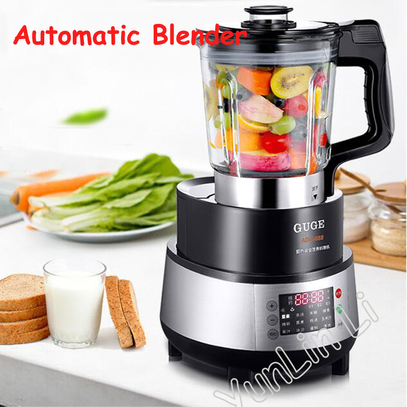 Automatic Juicer High Speed Blender Steam Heating Food Processor Instantaneous Heating Juicing Machine AD-G888