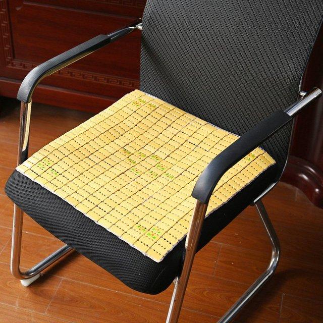 Top Selling Bamboo Cushion Breathable Bamboo Mat Summer Sofa Seat Cushions  Square Chair Cushion