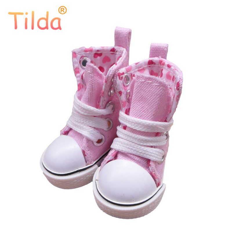 Тильда 5 см кукла на полотне сапоги для KPOP кукла ручной работы игрушка, 1/6 игрушка кукла джинсовая обувь для кроссовки BJD аксессуары для EXO куклы