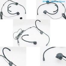 Professional складные конденсаторные гарнитуры микрофон для Sennheiser Shure MiPro AKG Audio-Technica беспроводной передатчик SM68