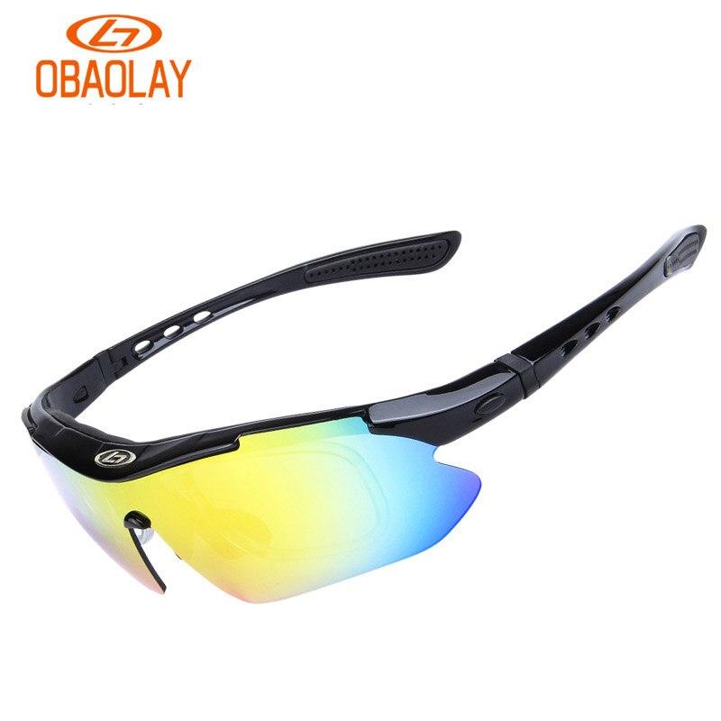 Gruppe 5 Wechselobjektive Im Freien Polarisierende Radfahren Brille Bewegung Sonnenbrille,1