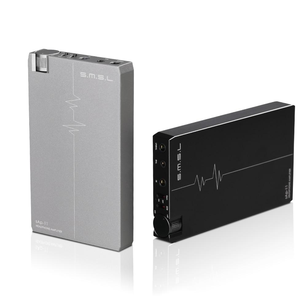 NEW SMSL sAp 11 CNC MINI HIFI Portable Balance Headphone font b Amplifier b font TPA6120A2