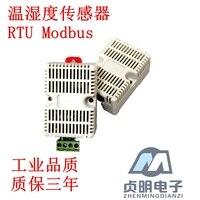 Import Temperature And Humidity Sensor Standard Modbus RTU Protocol Industrial Cabinet Greenhouse Lightning Surge