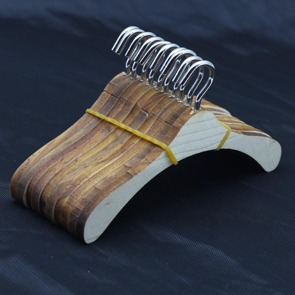 [10PCS] Wood Hangers