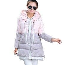 Горячий Продавать 2016 Женщины зима пальто и куртки feamle Парки Камуфляж Печатных Теплый и сгущает Женщины Пальто плюс размер M-3XL