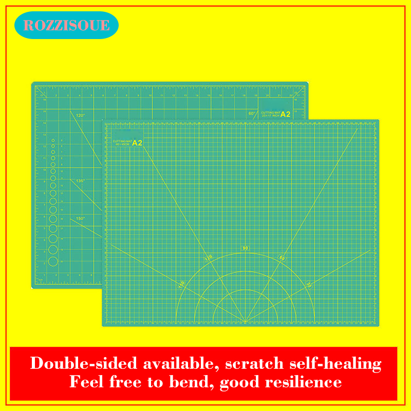 A2 Sewing Cutting Mat Double-sided Plate Design Engraving Tapete De Corte 5-layer Large Cutting Board Mats Handmade Hand Tools