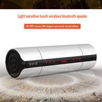 Stereo Bass Hifi Portable Wireless Bluetooth Speaker Light Sensitive Touch Wireless Bluetooth Speaker Of Audio MP3