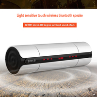 Stereo Bass Hifi Portable Wireless Bluetooth Speaker Light Sensitive Touch Wireless Bluetooth Speaker Of Audio MP3