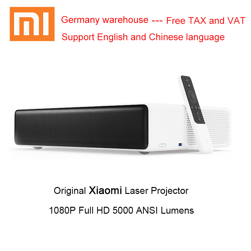 Xiaomi Mijia Laser Projection Projector 5000 Lumens 1080P Full HD Support 4K Video TV Android Bluetooth Beamer Proyector-in Home Theatre System from Consumer Electronics    1