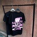 Анти социальные social club майка мужчины Череп Вдохновителя Скелет печать футболки хлопок уличная АГОС рубашки мужские женщин хип-хоп тройник
