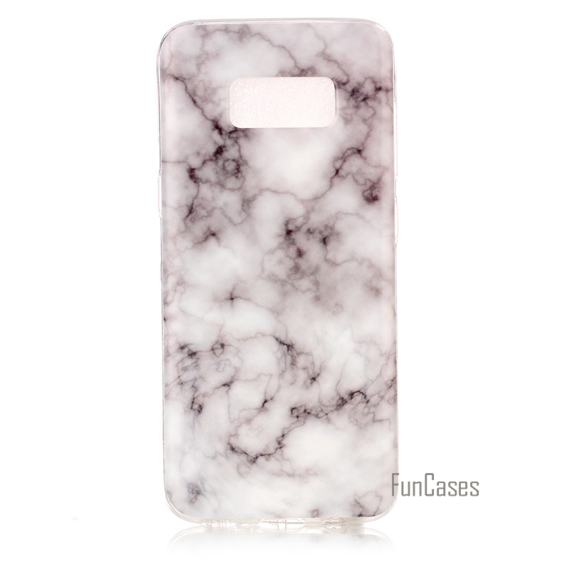 low priced 1727d c479b SM G950F SM G950 Phone Cover Marble Effect Soft Silicon Case Cover For  Samsung Galaxy S8 Cases TPU Capa Funda For Samsung S8-in Fitted Cases from  ...