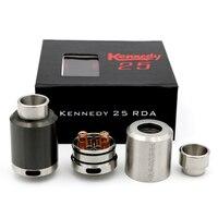 2016 Kennedy 25 RDA 1 1 Clone Rebuildable Atomizer 25mm Diameter Wide Drip Tip Rda Vs
