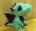 В исходном номера коллекция магический кристалл пепельный динозавра глаза 15 см мягкий фаршированные плюшевые куклы детские игрушки животных мультфильм подарок