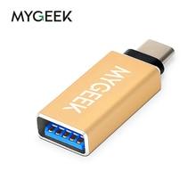 MyGeek usb-c otg USB Type C Male to USB 3.0 Female OTG Adapter for Macbook Google Chromebook Nokia Nexus ZUK OnePlus