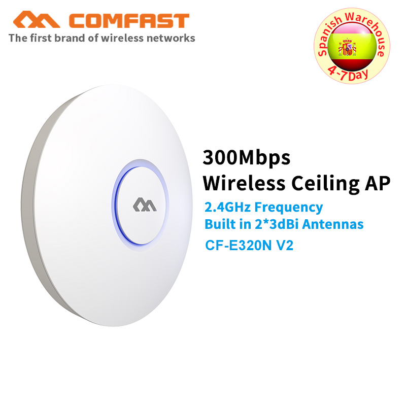 COMFAST Wifi Router Signal-Amplifier 6dbi-Antenna Access-Point-Ap 300M Ceiling-Ap Wireless