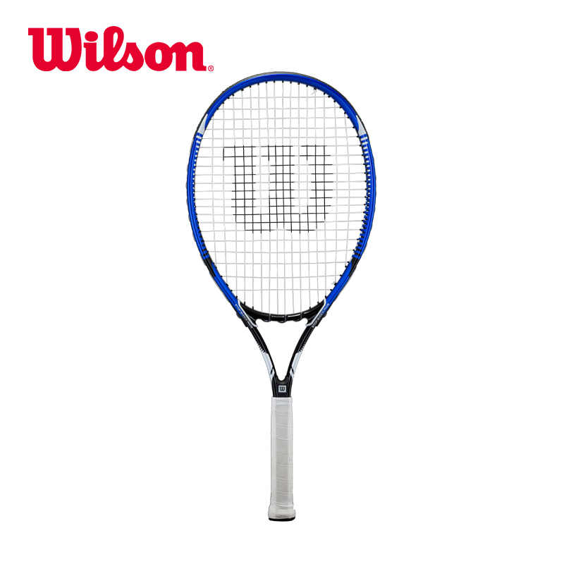Original Wilson Comfortable Lightweight Big Racket Face Tennis Max College Beginners Men Oval (central Sweet Point) OS MAX