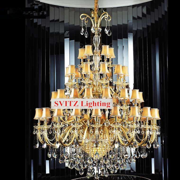 Uriașe 48 buc Modern candelabru iluminat led lumina corpuri pentru - Iluminatul interior - Fotografie 3