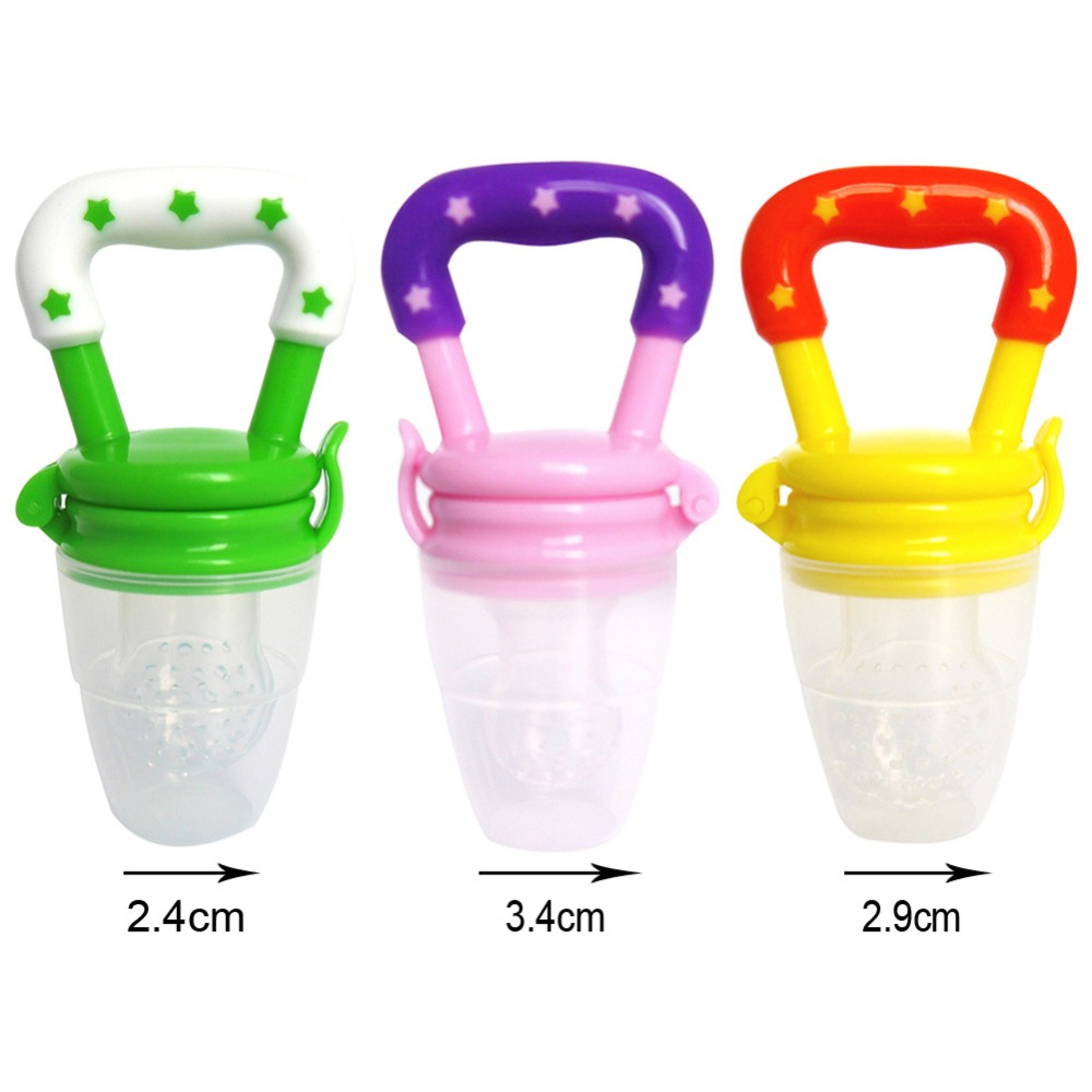1Pcs Baby Pacifier Fresh Food Milk Nibbler Feeder Kids Nipple Feeding Safe Baby Supplies Nipple Teat Pacifier Bottles FCI#