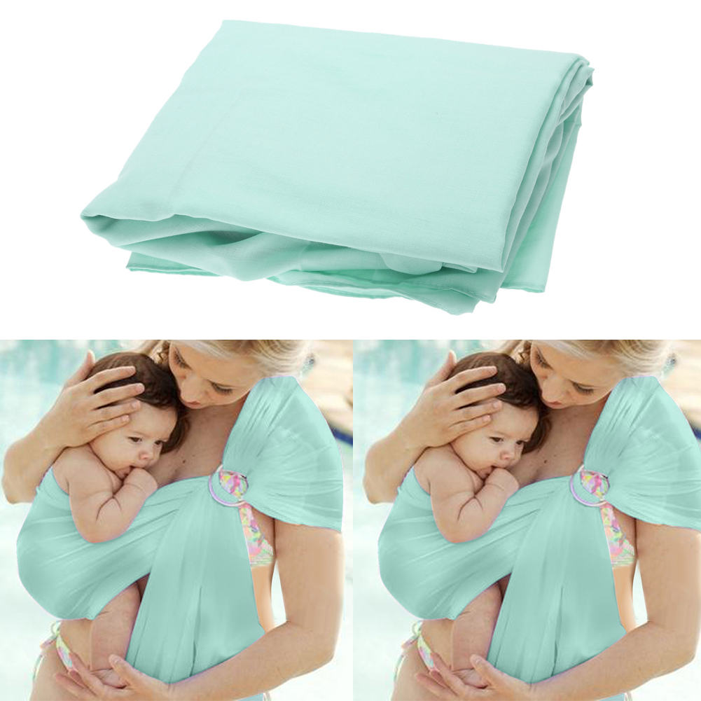 Quick Dry Water Ring Swing Slings Breathable Soft Wrap Baby Mother Carrier Cotton Baby Infant Carrier Newborn Sling Props