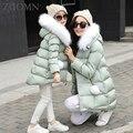 Casaco de inverno padrão de estrela da moda brasão jacket mãe da filha da mãe filha roupas família de alta qualidade olhar correspondência YL368