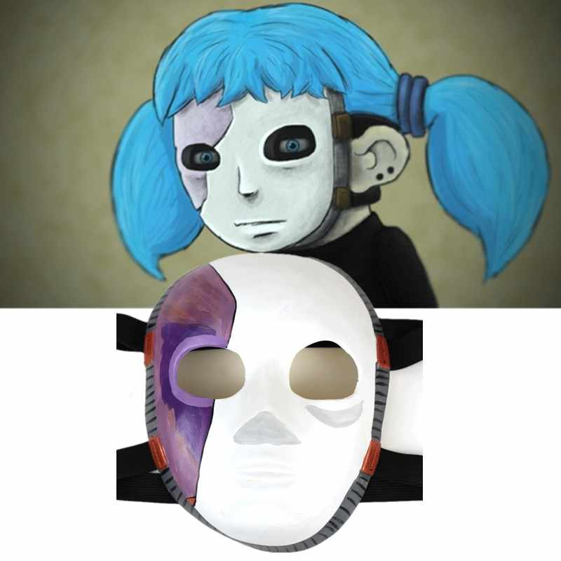 Sally Face Game Masks Masque Cosplay Halloween Latex Cosplay Costume Props