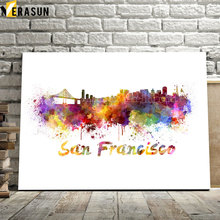 San Francisco Rome Berlin Amsterdam map City Wall Art Canvas Painting Nordic Posters And Prints Wall Pictures For Living Room amsterdam city map