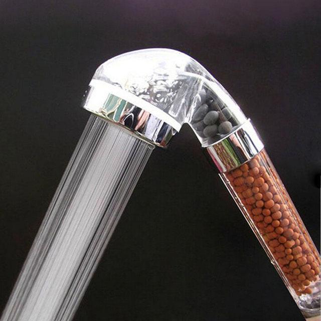 Online Shop Handheld Spa Bath Shower Head, Anion Bathroom Water ...