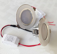 Wholesale HOT Sale High Power 3x3W LED Dimmable Downlight 3x3W LED Ceiling Lamp 50pcs Lot