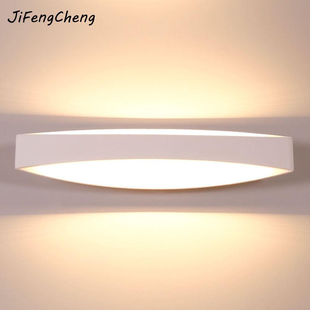 JIFENGCHENG Wall Lamp Simple and Modern LED Bedside Lamp Living Room Passage Stairs Bedroom Corridor Interior Lighting Luminaria