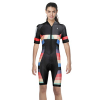 ILPALADINO Newest One Piece Cycling Jersey Women Summer MTB Bicycle Clothing Breathable Conjoined Sport Bike Clothes