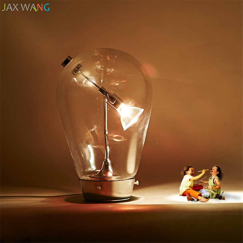 Led Table Lamps Led Lamps Responsible Jw_american Country Glass Table Lamps Bedroom Bedside Lamp Nordic Montage Study Adjustable Lights Led Living Room Art De Lamp Strong Packing