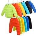 Девочки мальчики зимняя одежда набор Подходит Мило сгущать куртка + спецодежда Мальчик Набор Детей Лыжный Костюм Куртки + Брюки 2 шт./компл.