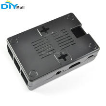 цена на Plastic Case Cover Shell Enclosure Box for Raspberry Pi 2 3  Model B+ B Plus