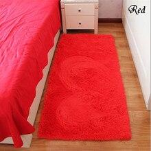 Envío libre rojo rectángulo alfombra de baño dormitorio carpet home decor felpudo absorbente antideslizante alfombras de oración