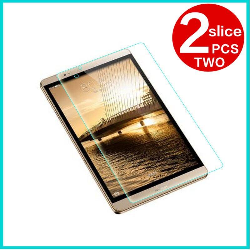 En Verre trempé membrane Pour Huawei MediaPad M2 8.0 acier film Tablet Écran Protection Trempé m2-801w 801L 803L Cas 2.5D HD