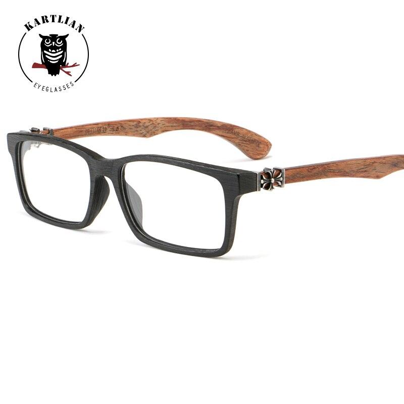 8bc435af49 ... Kartlian optical frame custom prescription glasses women clear lens  eyewear lenses Wooden Acetate eyeglasses. В избранное. gallery image