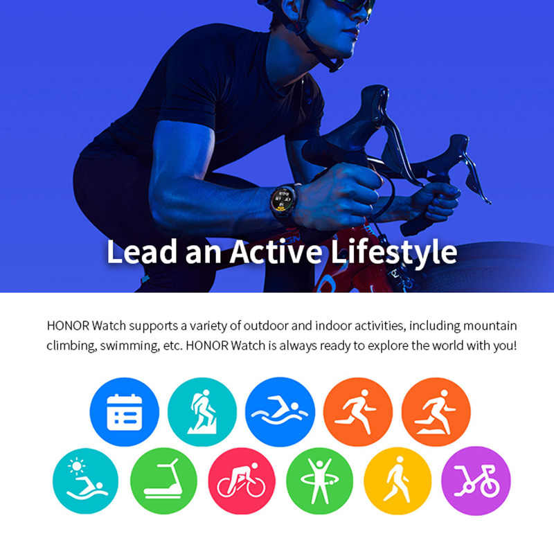 Image result for HONOR watch magic lead an active