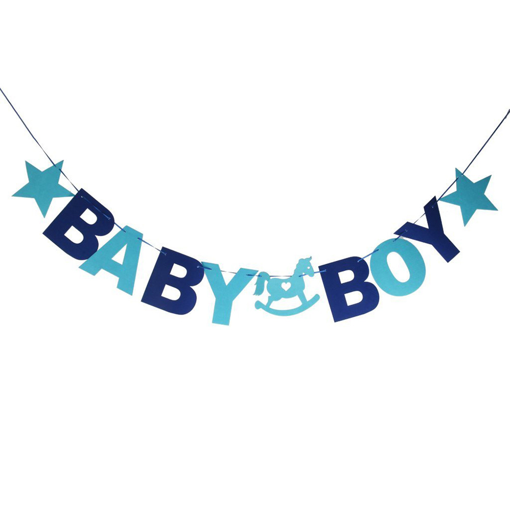 Baby Shower Banners. Quick Shop Custom Animals With Boy Balloons ...
