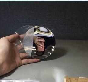 Image 3 - 1PC  Plastic Acrylic Parabolic Mirror Concave Minor Focus UV Protection Sturdy Durable  Refrective