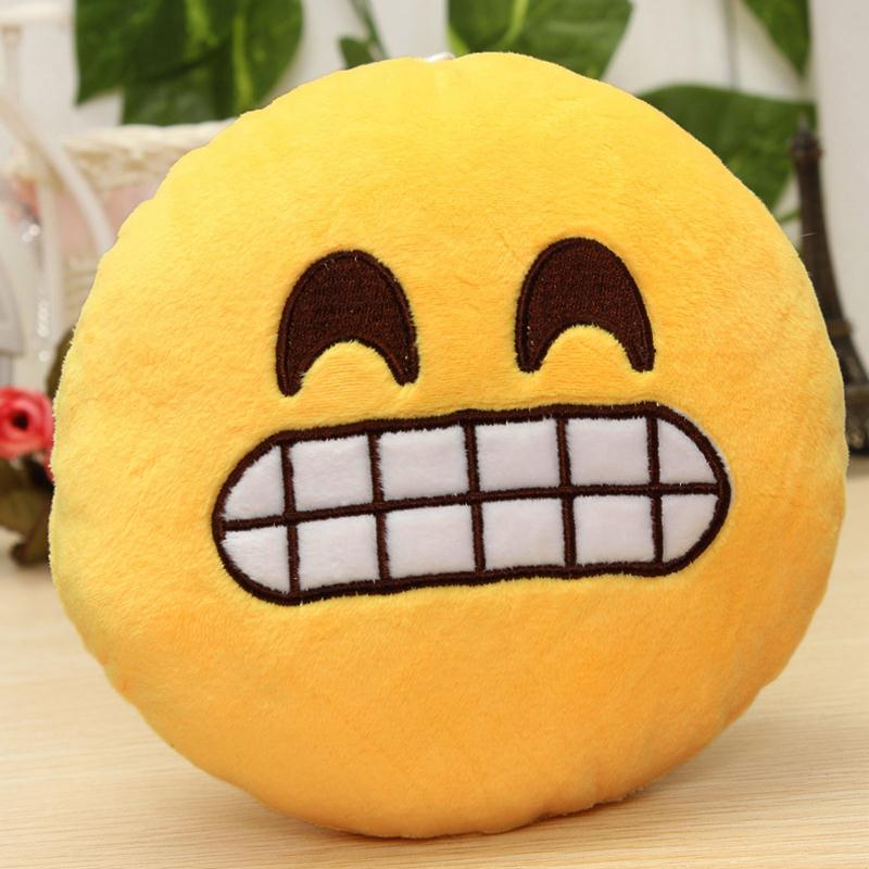 Μόδα 6 ίντσες Lovely Emoji Smiley Μαξιλάρια - Αρχική υφάσματα - Φωτογραφία 4