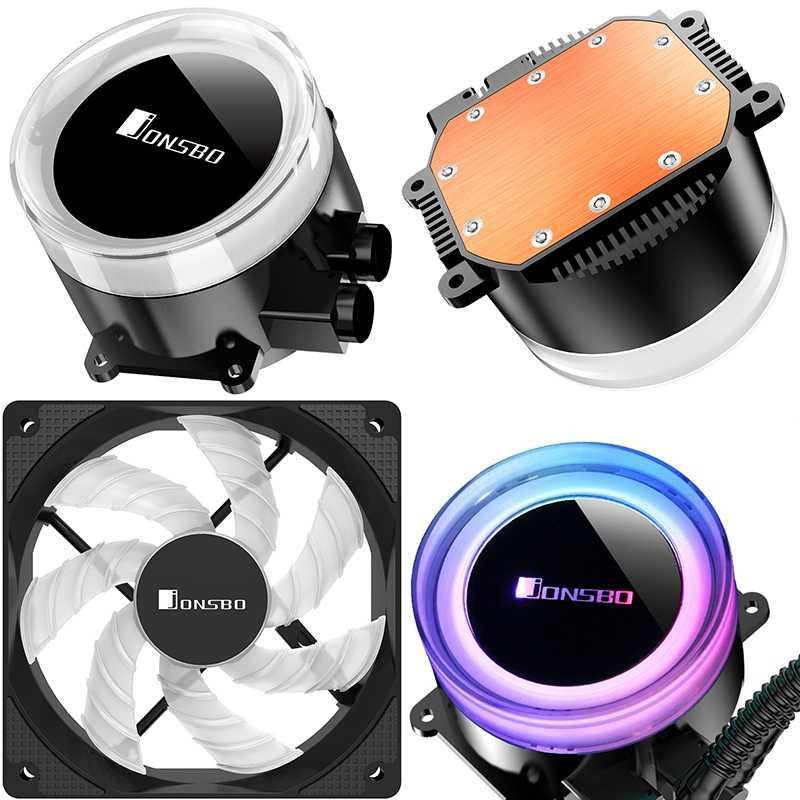 Jonsbo Tw2-240 501 Pc Cpu Water Cooling 4Pin Pwm Integrated Water Cooling Cooler For Lga 775/115X Intel Amd Ryzen Apu Computer
