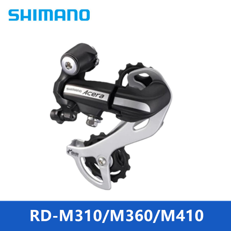 Cycling Forceful Original Shimano Alivio Rd M310/360/m410 7s 8s Speed Mtb Bicycle Rear Derailleur Black & Silver Brand New Unused Highly Polished Bicycle Derailleur