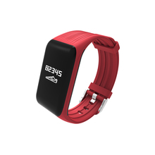 2018 good bracelet K1 health tracker 24-hour real-time coronary heart price detector IP68 waterproof males's trend good watch