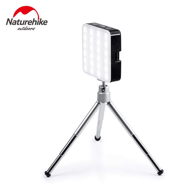 Naturehike Multifunction LED Portable Portable Tent Camp Light Emergency Lighting Rechargeable Outdoor Camping Light 5900K SOS