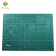 Mrosaa A3 PVC Cutting Mat Cutting Pad Patchwork Cut Pad Patchwork Tools Manual DIY Tool Cutting Board Double-sided Self-healing(China)