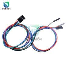 2PIN 3PIN 4PIN 70 CM Dupont ligne femelle à femelle câble de raccordement Dupont câble câbles connecteur pour Arduino