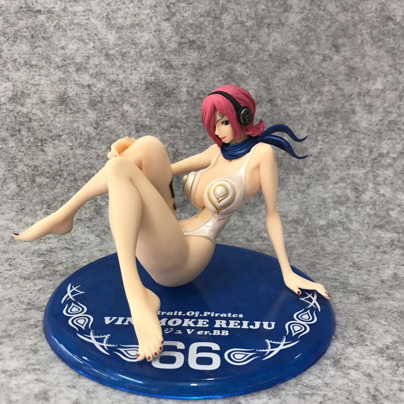 Anime 11cm <font><b>One</b></font> <font><b>Piece</b></font> Vinsmoke <font><b>Reiju</b></font> swimsuit Battle suit Model Toys PVC Action Figure Model Collectible Gift toys image